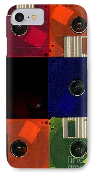 In Search Of The Missing Disc IPhone Case