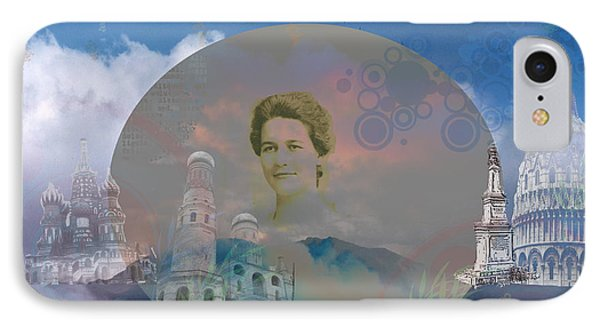 IPhone Case featuring the digital art In The Air by Cathy Anderson