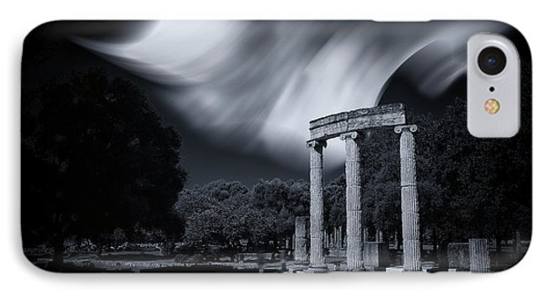 IPhone Case featuring the photograph In The Altis Of Olympia by Micah Goff