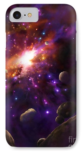 In The Beginning... Phone Case by Tamer and Cindy Elsharouni