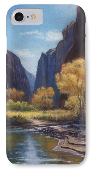 In The Bend Zion Canyon IPhone Case