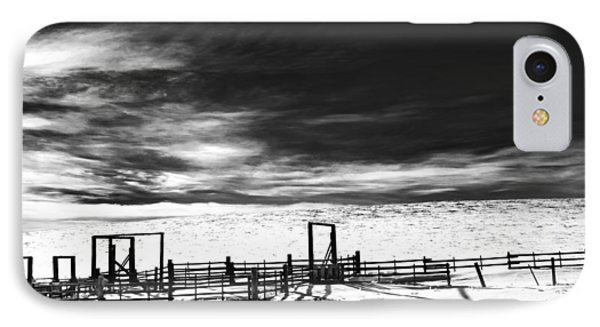 In The Bleak Midwinter Phone Case by Theresa Tahara