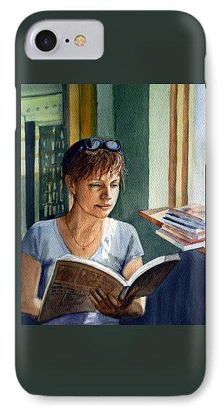 In The Book Store Phone Case by Irina Sztukowski