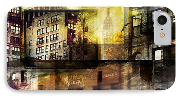 In The City Phone Case by Jeff Klingler