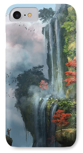 In The Clouds IPhone Case by Steve Goad