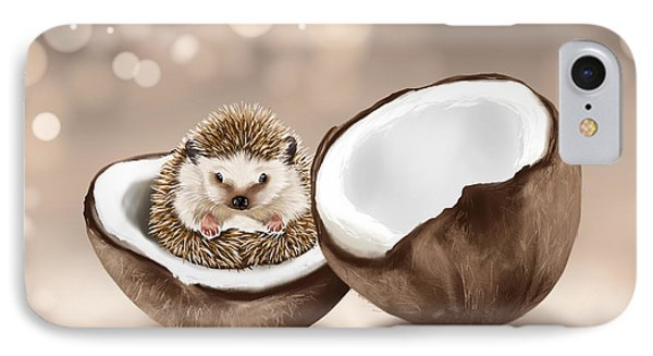 In The Coconut IPhone Case by Veronica Minozzi