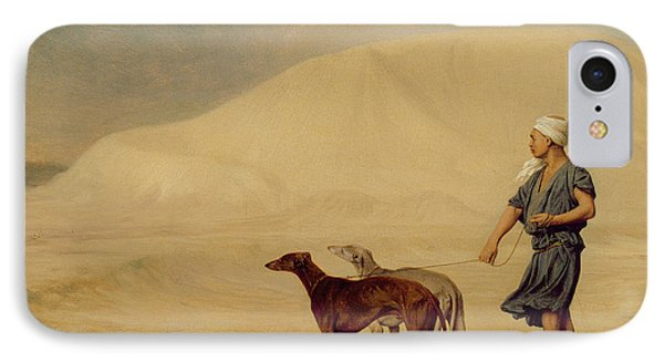 In The Desert IPhone Case by Jean Leon Gerome
