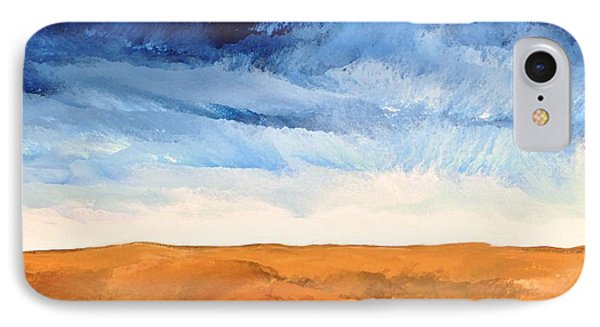 IPhone Case featuring the painting In The Distance by Linda Bailey