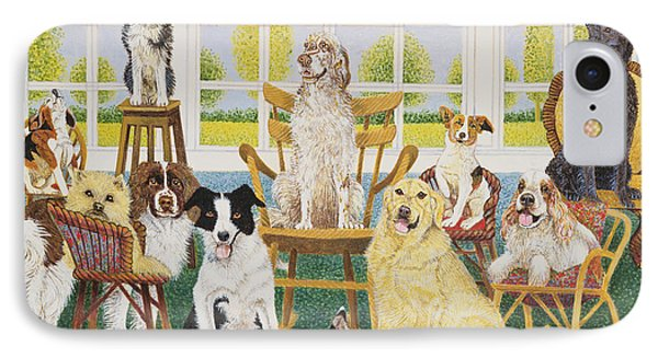 In The Dog House IPhone Case