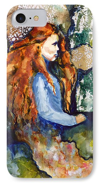 IPhone Case featuring the mixed media In The Dream by P Maure Bausch