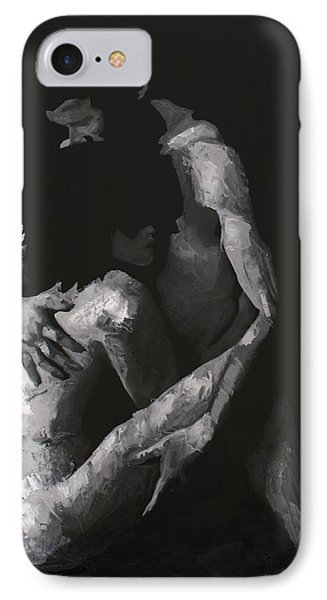 In The Flesh Viii IPhone Case by Alison Schmidt Carson