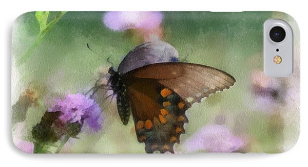 IPhone Case featuring the photograph In The Flowers by Kerri Farley