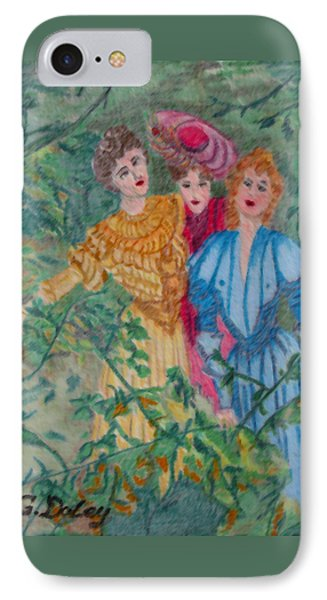 In The Garden Phone Case by Gail Daley
