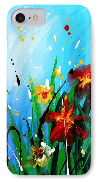 In The Garden IPhone Case by Kume Bryant