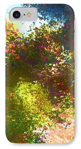 In The Garden Phone Case by Pamela Cooper