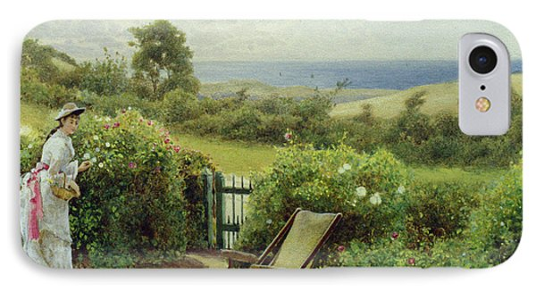 In The Garden IPhone Case by Thomas James Lloyd