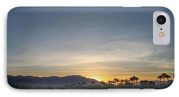 City Sunset iPhone 7 Case - In The Grand Scheme Of Things by Laurie Search