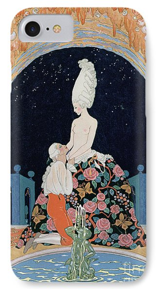 In The Grotto Phone Case by Georges Barbier