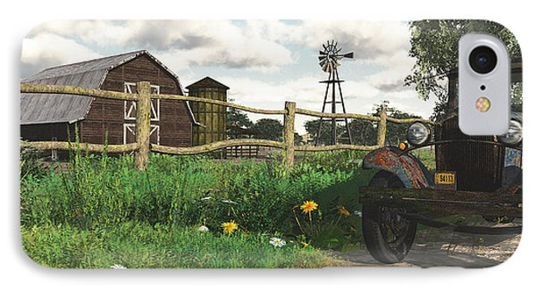 In The Heartland IPhone Case by Jayne Wilson