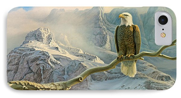 In The High Country-eagle Phone Case by Paul Krapf