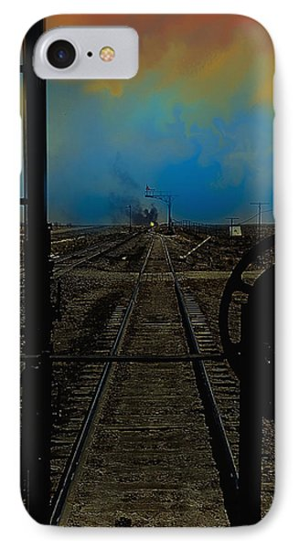 In The Hole  Texas Panhandle IPhone Case by J Griff Griffin