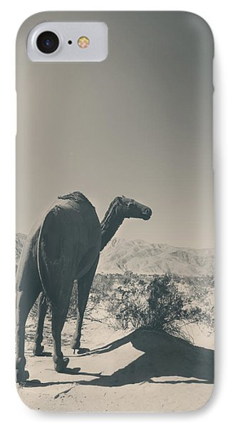 In The Hot Desert Sun IPhone Case by Laurie Search