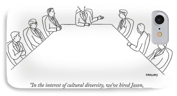 In The Interest Of Cultural Diversity IPhone Case by Alex Gregory