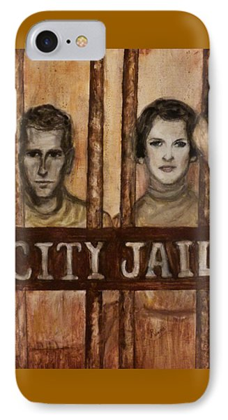 In The Jailhouse Now Phone Case by Regina Brandt