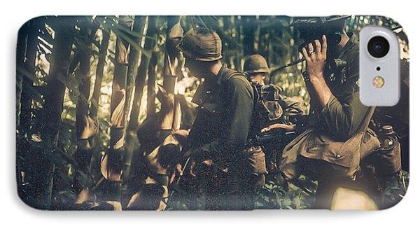 In The Jungle - Vietnam IPhone Case by Edward Fielding