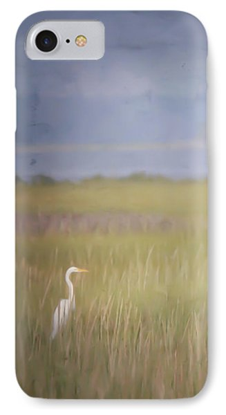 IPhone Case featuring the photograph In The Marsh  by Kerri Farley