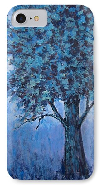 IPhone Case featuring the painting In The Mist by Suzanne Theis