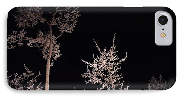 IPhone Case featuring the photograph In The Night Garden by Brian Boyle