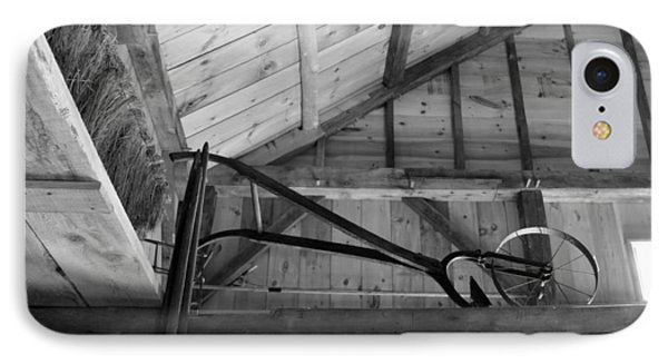 IPhone Case featuring the photograph In The Rafters by Lois Lepisto
