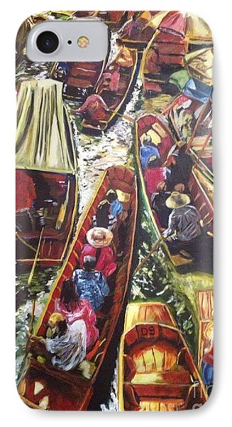 In The Same Boat IPhone Case by Belinda Low