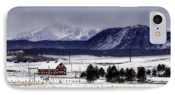 IPhone Case featuring the photograph In The Shadow Of Pike's Peak by Kristal Kraft