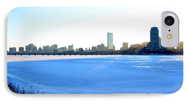In The Shadow Of The Pru IPhone Case by Toby McGuire