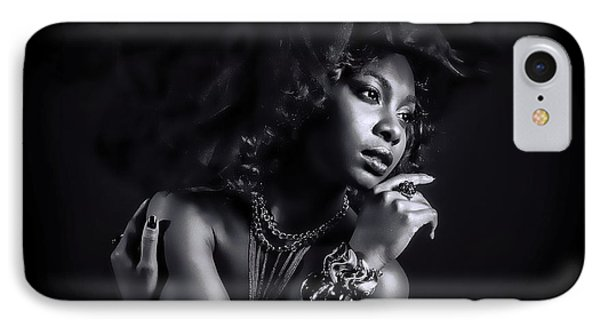 IPhone Case featuring the photograph In The Shadows by Brian Tarr