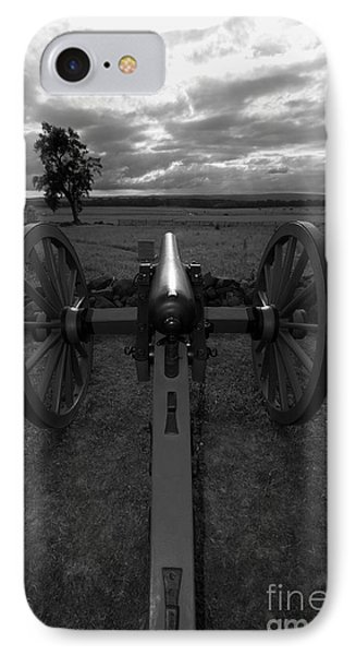 In The Sights At Gettysburg Phone Case by James Brunker