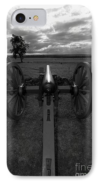 In The Sights At Gettysburg IPhone Case by James Brunker