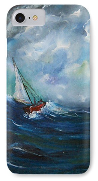 In The Storm IPhone Case by Dorothy Maier