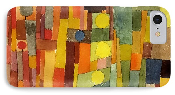 In The Style Of Kairouan IPhone Case by Paul Klee