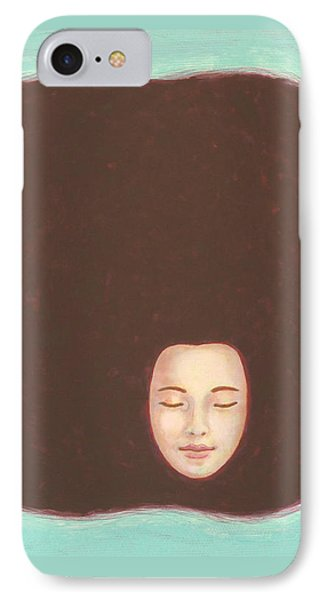 In The Void Phone Case by Judith Grzimek