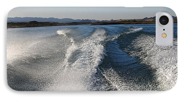 In The Wake Of Lake Havasu Az  IPhone Case
