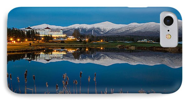 In The White Mountains IPhone Case by Robert Clifford
