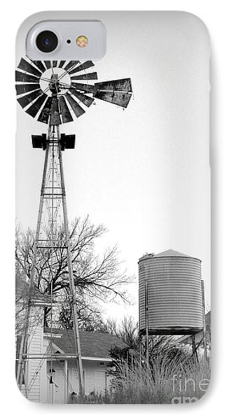 In The Windmills Of Your Mind Phone Case by Kathy  White