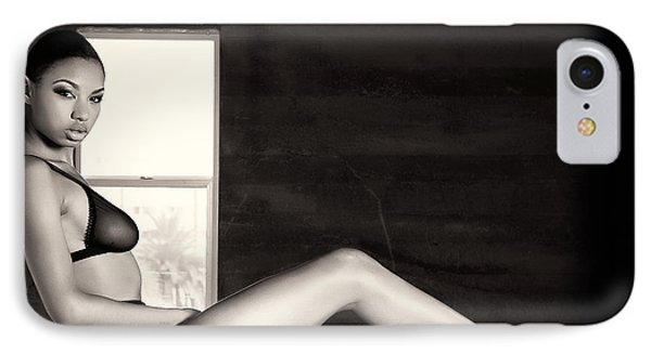 In The Window IPhone Case by Gregory Worsham