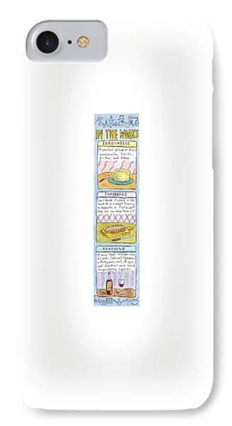 In The Works: IPhone Case by Roz Chast
