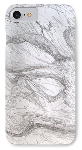 IPhone Case featuring the painting In Vitro by Esther Newman-Cohen