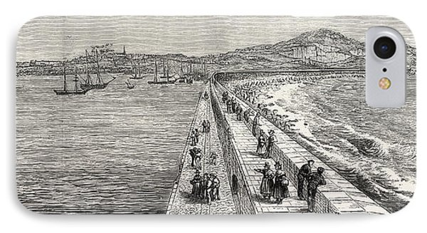 Inauguration Of The Holyhead Breakwater And Harbour IPhone Case