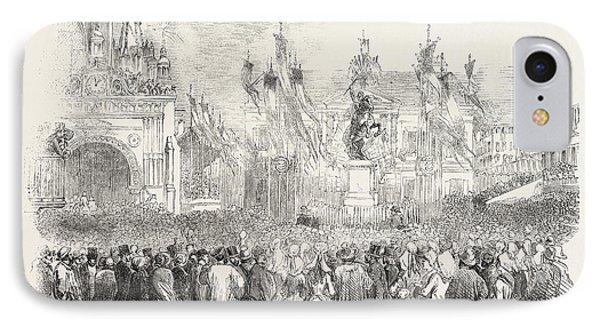 Inauguration Of The Statue Of William The Conqueror IPhone Case